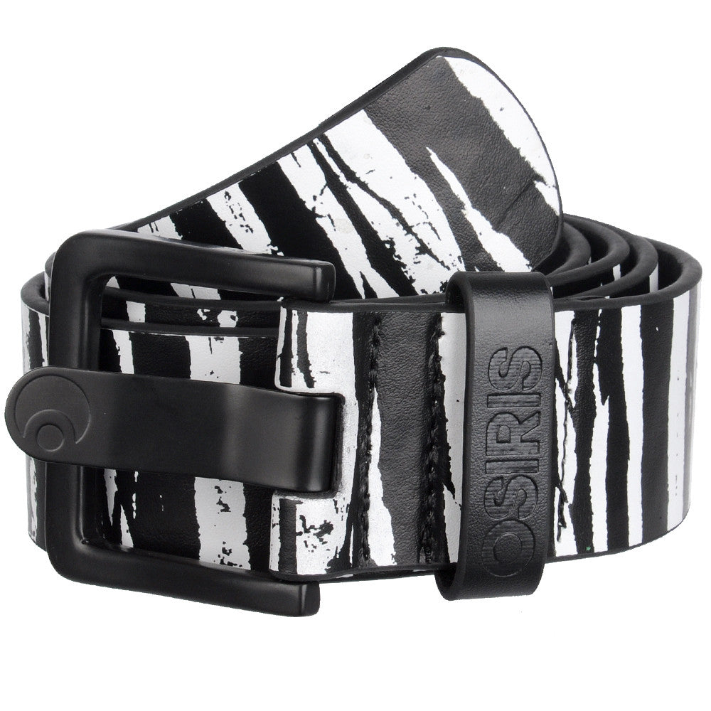 Osiris Stratusphere - One Size Fits All - Black/White - Men's Belt