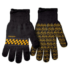 Krooked Zip Zinger Full Finger - Black/Yellow - Gloves