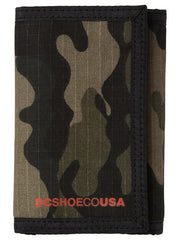 DC Ripstop  - Woodland Camo - Men's Wallet