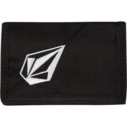 Volcom Full Stone 2F - Black On Black - Wallet