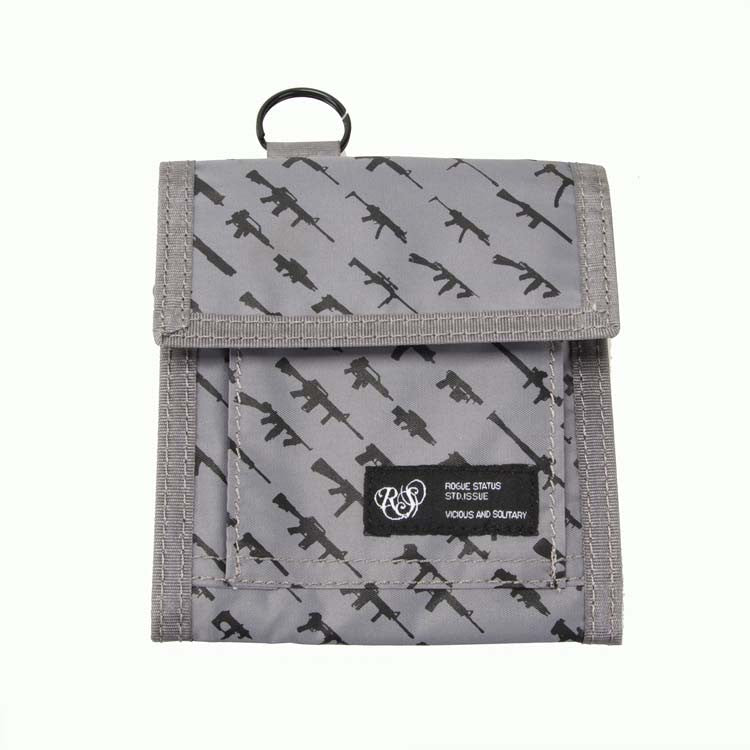 Rogue Status Gunshow Tech 2 - Grey/Black - Men's Wallet