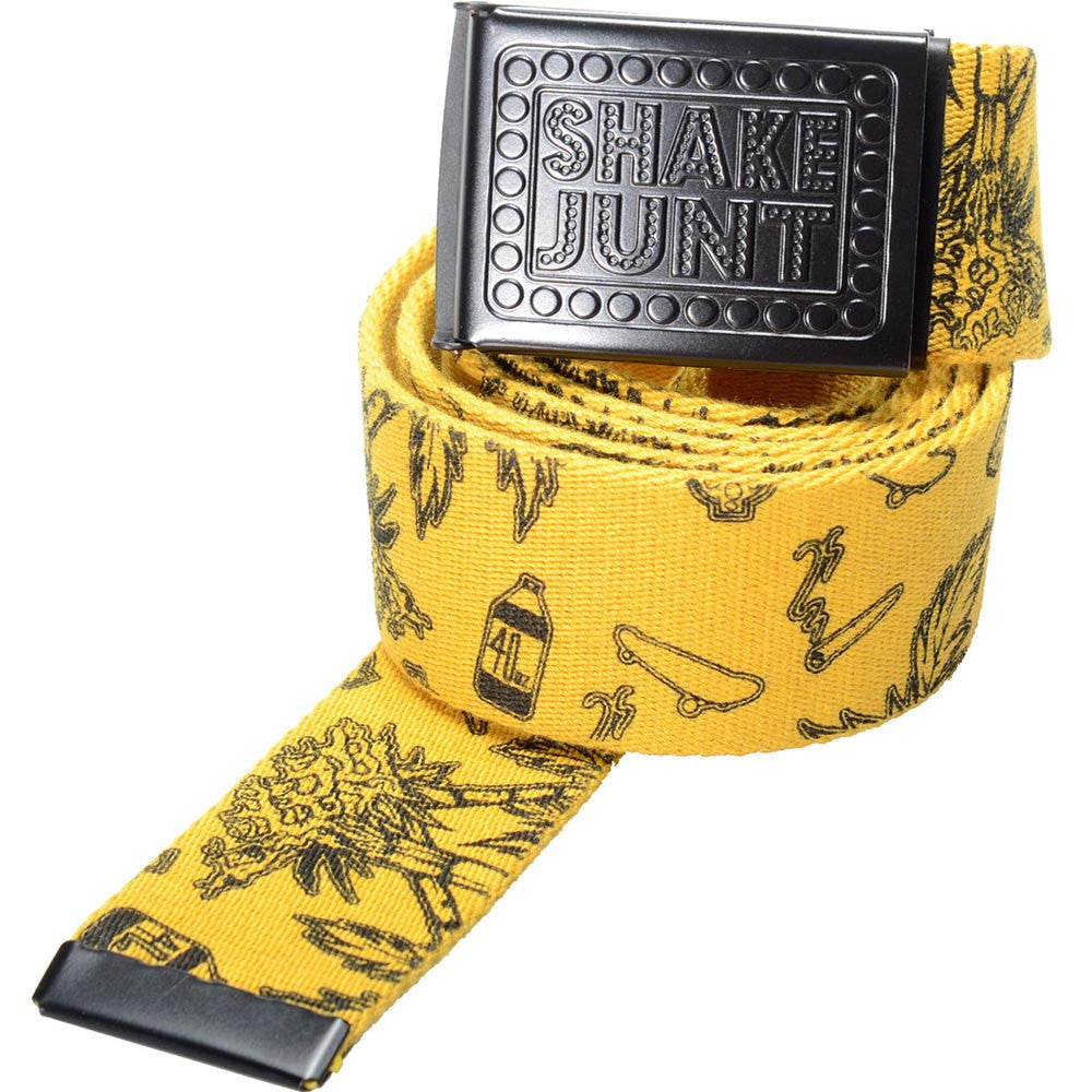 Shake Junt Casual Fridays - Yellow/Black - Men's Belt