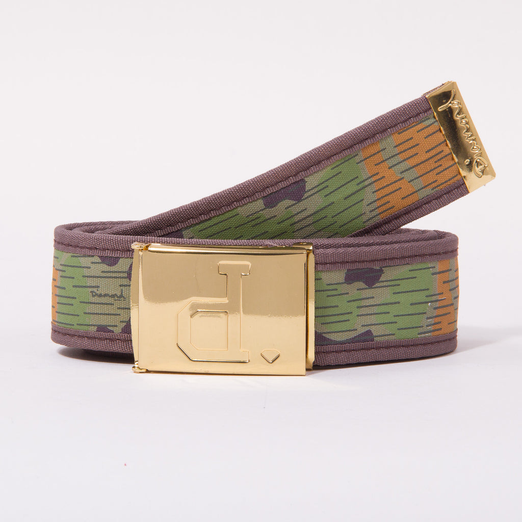 Diamond Un-Polo Rainfrog Clamp - Tan - Men's Belt