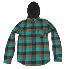 Element Duke - Emerald - Youth Collared Shirt
