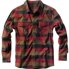 Matix Jettison - Red/Red - Men's Collared Shirt