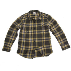 Volcom Stave - Gold - Youth Collared Shirt