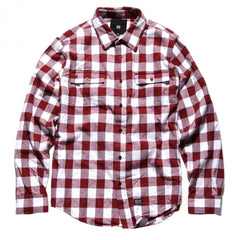 KR3W Loretto - Brick - Men's Collared Shirt