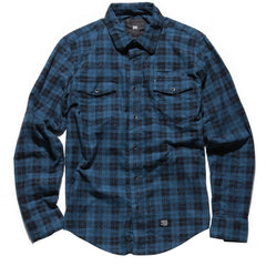 KR3W Marion - Blue - Men's Collared Shirt