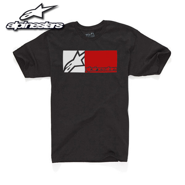 Alpinestars Rectangle Yourth - Black - Youth T-Shirt