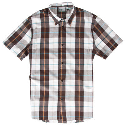 WeSC Sergio - Roasted Coffee - Men's Collared Shirt