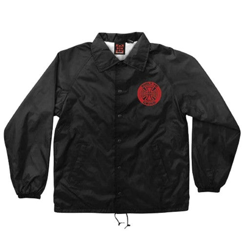 Independent AXIOM Coach Windbreaker Lined - Black - Men's Jacket