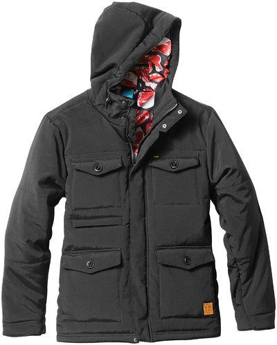 Enjoi Nice and Cozy - Black - Men's Jacket