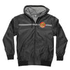 Santa Cruz Dot Hooded Windbreaker - Black - Men's Jacket