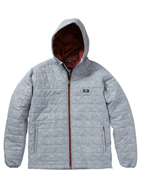 DC Bolinas - Heather Grey - Men's Jacket