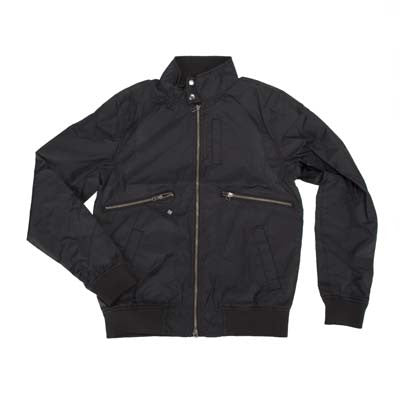 KR3W Hendry Nylon - Black - Men's Jacket