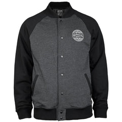 Bones Varsity - Grey/Black - Men's Jacket