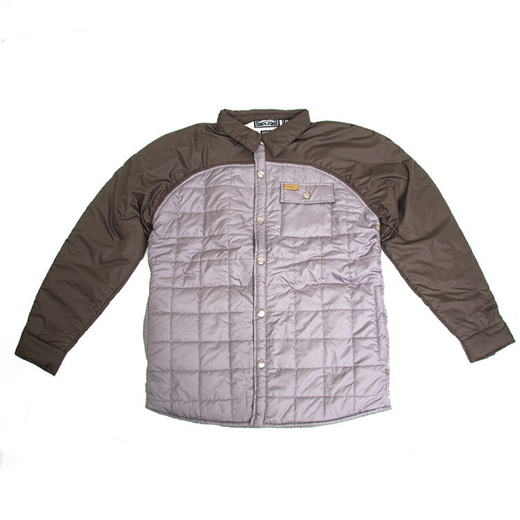 Elwood Silas Nomad - Grey / Brown - Men's Jacket