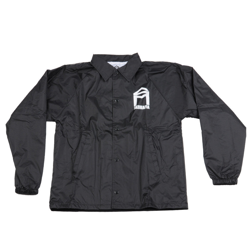 Sk8mafia House Logo Coaches - Black - Men's Jacket