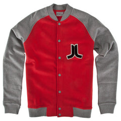 WeSC Balker - Men's Jacket - Lollipop Red
