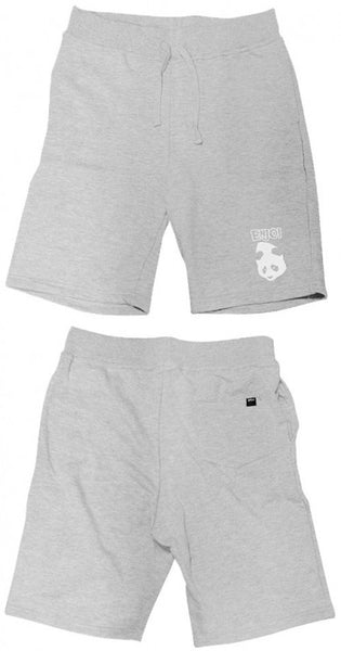 Enjoi Quiet Time Wanker Short - Heather Grey - Mens Shorts