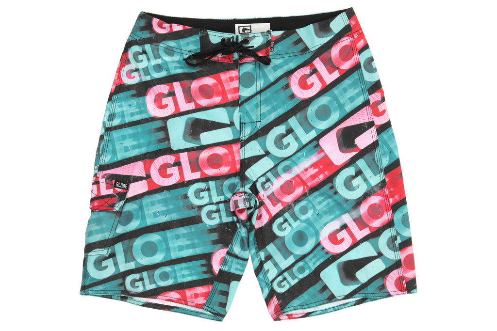 Globe La Matrix Boardie - Black - Men's Boardshorts