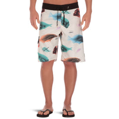 "Globe Herring Boardie 21"" - Dirty White - Men's Boardshorts"