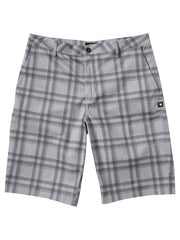 DC Chino - Grey Plaid - Men's Shorts