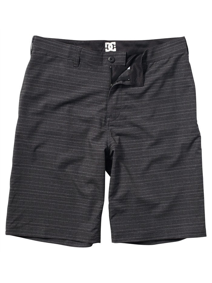 DC Jurado Hybrid Boardshorts - Black - Men's Shorts