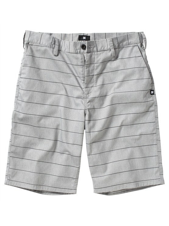 DC Worker Short - Pewter Stripe - Men's Shorts