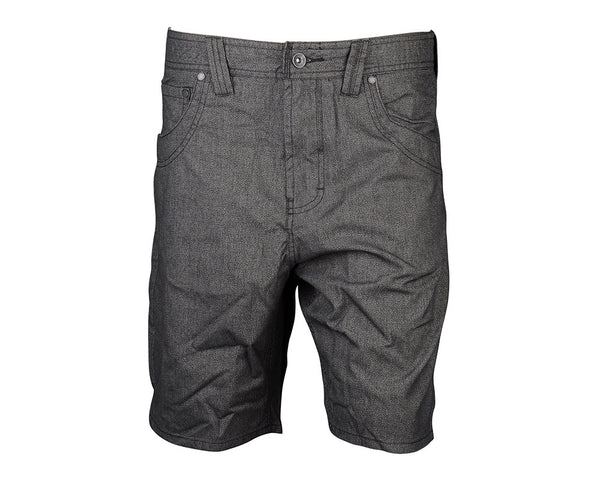 Globe Corner Walkshort - Vintage Black - Mens Shorts