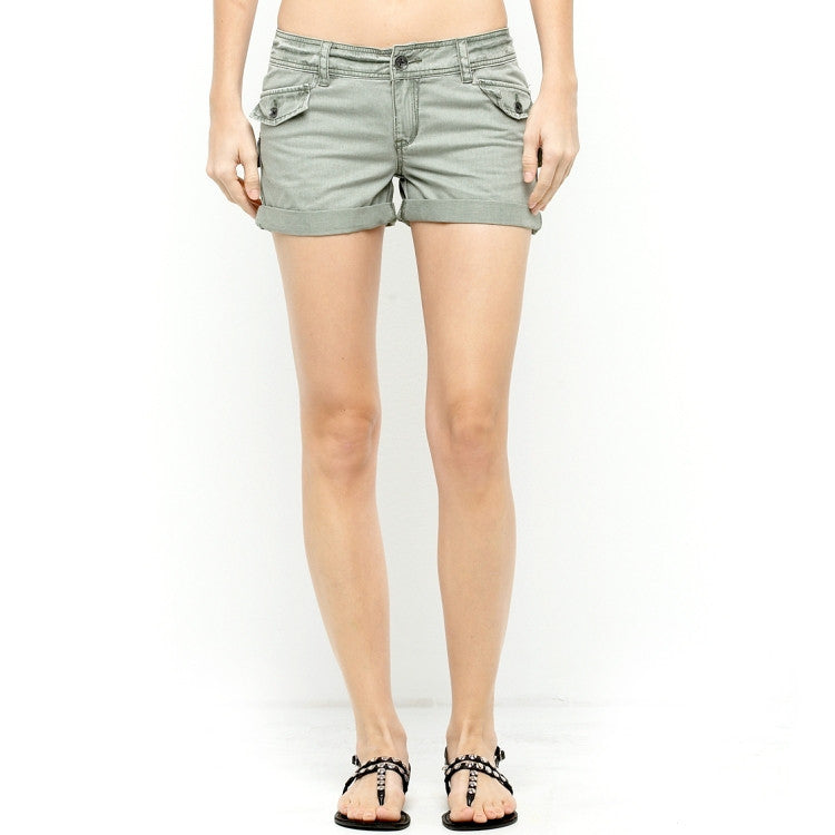 Roxy Download - Olive - Women's Shorts - Size 9