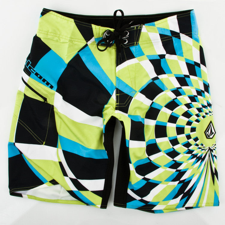 Volcom Dingo 2 Mod - Lime - Men's Bathing Suits