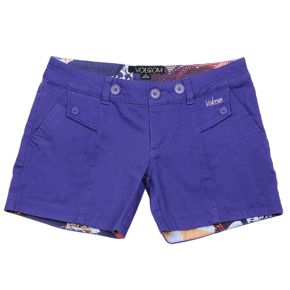"Volcom Inca Short 5"" - Purple - Women's Shorts"