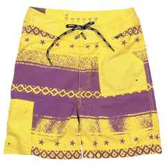 Underground Products Short Que Onda - Men's Shorts - Yellow
