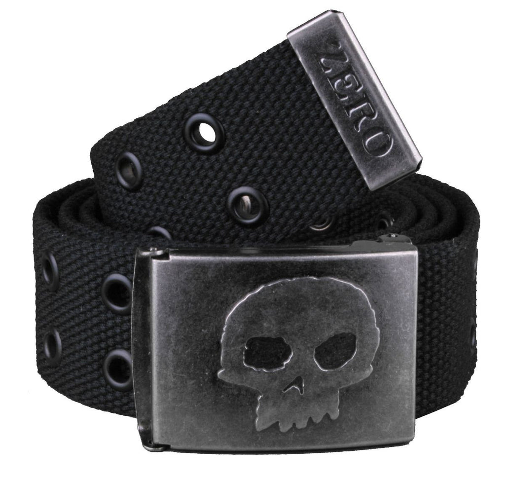 Zero Rivet Belt - Black - Belt