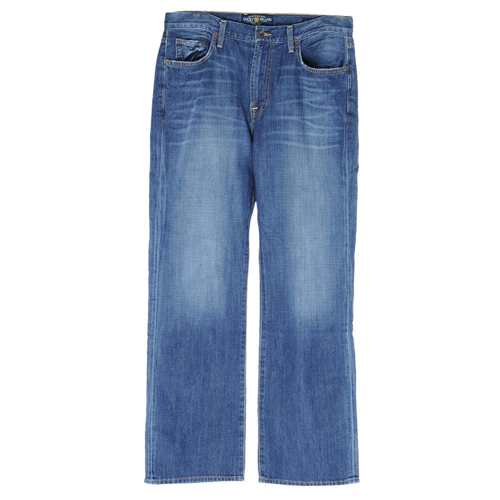 Lucky 181 Relaxed Straight Jeans - Blue - Mens Pants