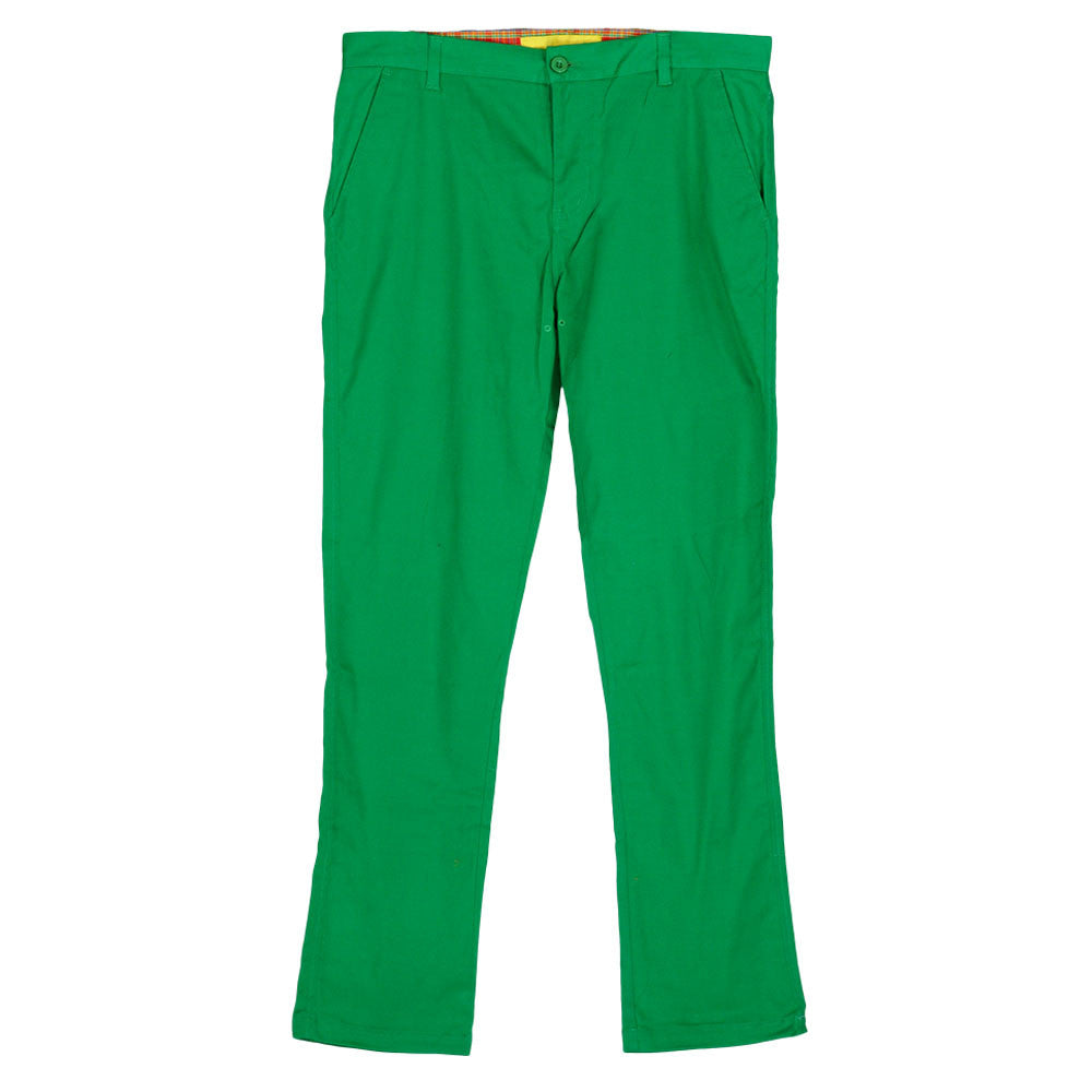 Enjoi Boo Khaki Slim Straight - Green - Men's Pants
