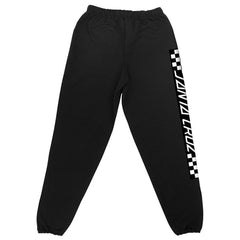 Santa Cruz Contest Pull On Bottom - Black - Men's Sweatpants