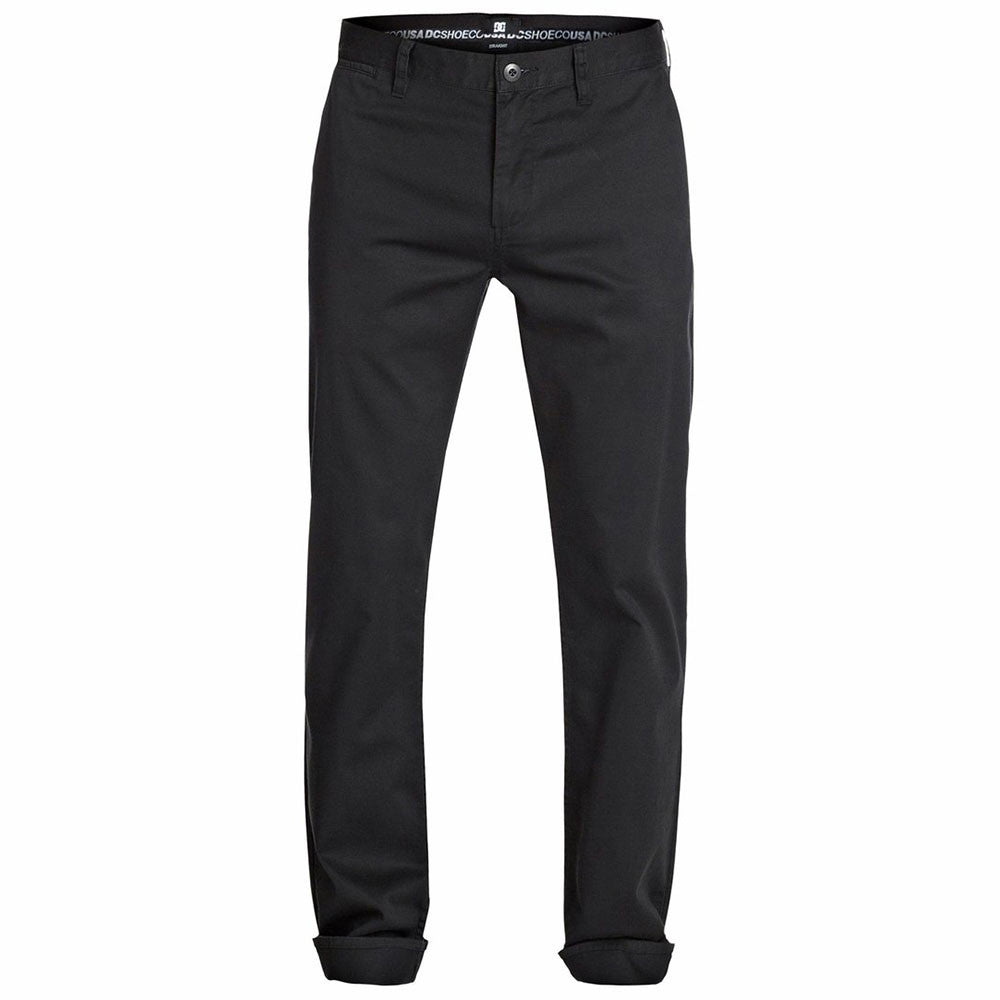 DC Straight Chino - Anthracite KVJ0 - Men's Pants