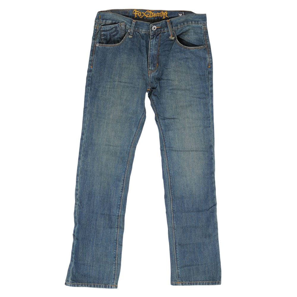 Fox Badbrain Jean Dirty - Blue - Men's Pants
