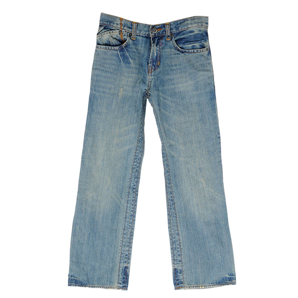 Fox Duster Youth - Blue - Youth Pants