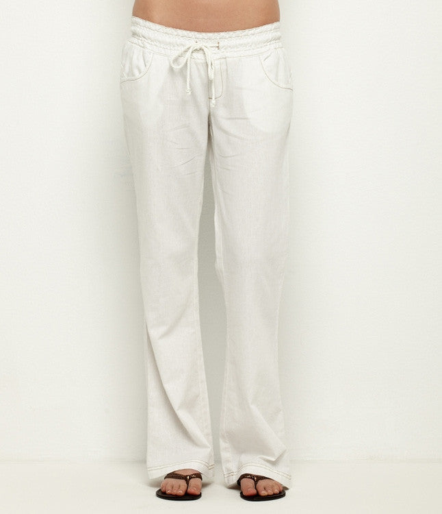 Roxy Take It Easy - White - Women's Pants
