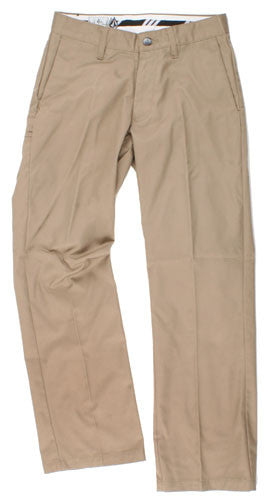 Volcom Frickin Solid Chino - Khaki - Men's Pants