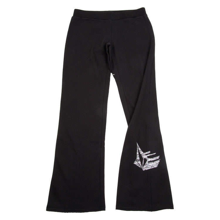 Volcom Flight Speed Fleece - Black - Women's Pants - Large