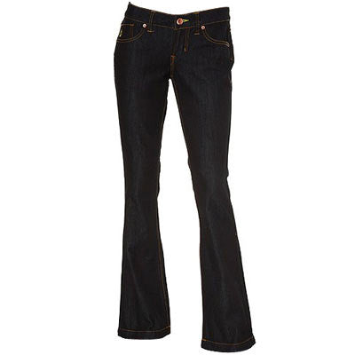 Volcom Ladies Tree Hugger Bootcut Organic - Women's Pants - Size 0