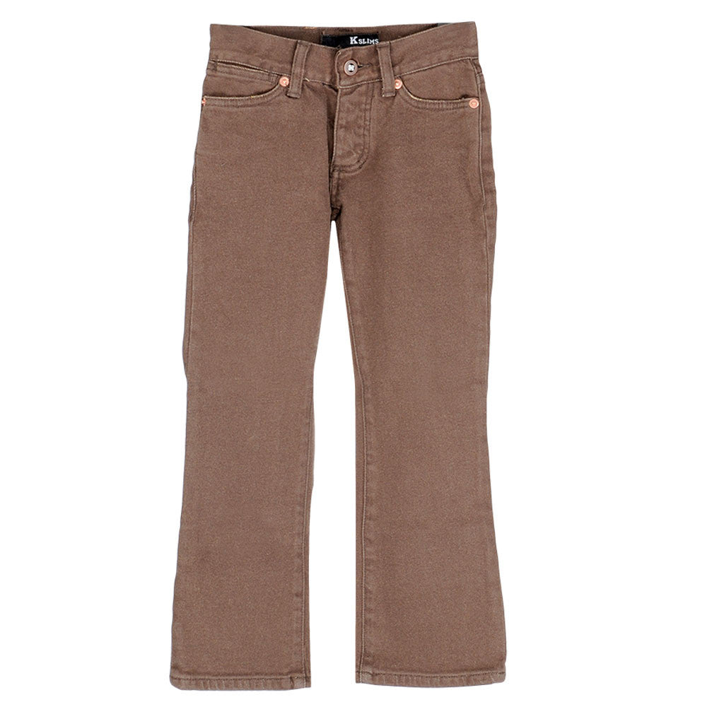 KR3W K Slims - Brown Rinse - Youth Pants