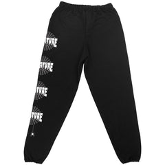 Creature Web T/C Pull On Bottom - Black - Men's Sweatpants