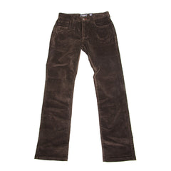Elwood Silas' Rambler Un-cut Cord - Chocolate - Men's Pants