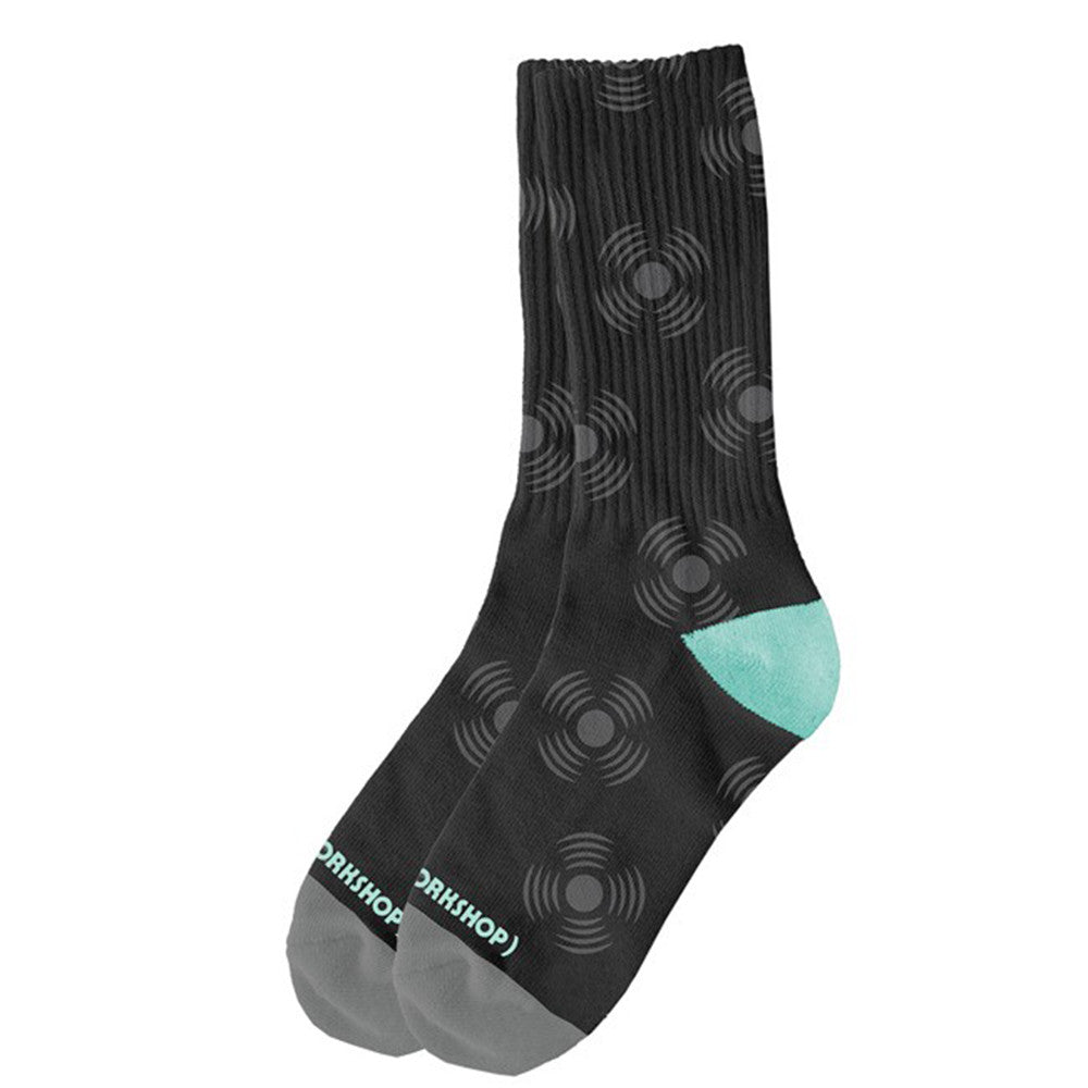 Alien Workshop Sonic - Black - Men's Socks (1 Pair)