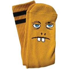 Toy Machine Betard Fooser - Brown - Men's Socks (1 Pair)